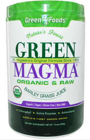 Green Foods Corporation  Green Magma  Barley Grass Juice  10.6 oz  300 g    iHerb.com